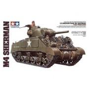 35190 Tamiya Американский средний танк М4 Sherman (ранняя версия) 1942г. с 3 фигурами танкистов, 1/35