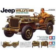 35219 Tamiya Американский 1/4-тонный джип 4х4  WILLYS MB и 1 фигура водителя, 1/35