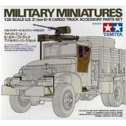 35231 Tamiya U.S. 2.5 ton 6x6 Accessory Set, 1/35