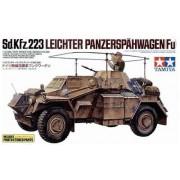35268 Tamiya Бронеавтомобиль Sd.Kfz.223 с решетками фототравления, 2 фигуры, 1/35