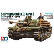 35310 Tamiya Sturmgeschutz III Ausf.G - Finnish Army с фигурой командира, 1/35