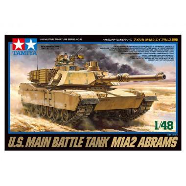 32592 Tamiya Американский танк M1A2 Abrams, 1/48