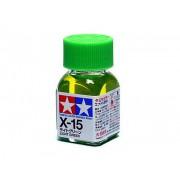 80015 Tamiya Х-15 Light Green (Светло-зеленая) эмаль, глянцевая 10 мл