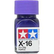80016 Tamiya X-16 Purple (Фиолетовая) эмаль, глянцевая 10 мл
