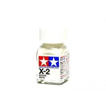 80002 Tamiya Х-2 White (Белая) эмаль, глянцевая 10 мл