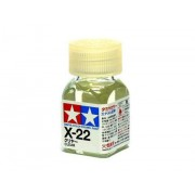 80022 Tamiya X-22 Clear (Глянцевый лак) эмаль, глянцевая 10 мл