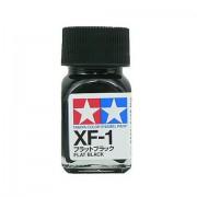 80301 Tamiya XF-1 Flat Black (Черная) эмаль, матовая 10 мл