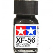 80356 Tamiya XF-56 Metallic Grey (Серый металлик) эмаль, матовая 10 мл