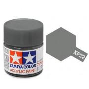 81722 Tamiya краска XF-22 RLM Grey (серая) акрил, матовая 10 мл