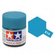 81514 Tamiya X-14 Sky Blue (Лазурная) акрил, глянцевая 10 мл