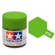 81515 Tamiya -15 Light Green (Светло-зеленая) акрил, глянцевая 10 мл