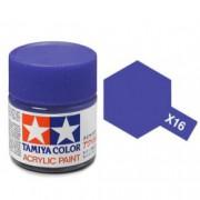 81516 Tamiya X-16 Purple (Пурпурная) акрил, глянцевая 10 мл