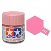 81517 Tamiya X-17 Pink (Розовая) акрил, глянцевая 10 мл