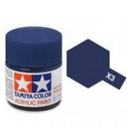81503 Tamiya X-3 Royal Blue (Королевская синяя) акрил, глянцевая 10 мл