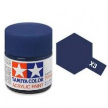 81503 Tamiya Х-3 Royal Blue (Королевская синяя) акрил, глянцевая 10 мл