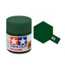 81505 Tamiya Х-5 Green (Зеленая) акрил, глянцевая 10 мл