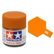 81506 Tamiya X-6 Orange (Оранжевая) акрил, глянцевая 10 мл