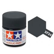 81724 Tamiya XF-24 Dark Grey (Темно-серая) акрил, матовая 10 мл