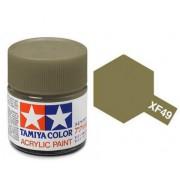 81749 Tamiya XF-49 Khaki (хаки) акрил, матовая 10 мл