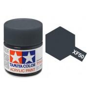 81750 Tamiya XF-50 Field Blue (Полевая синяя) акрил, матовая 10 мл