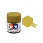 81760 Tamiya XF-60 Dark Yellow (Темно-желтая) акрил, матовая 10 мл