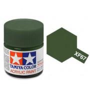 81767 Tamiya XF-67 NATO Green (Зеленая НАТО) акрил, матовая 10 мл