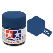 81708 Tamiya XF-8 Flat Blue (Синяя матовая) акрил, 10 мл