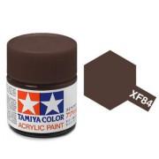 81784 Tamiya XF-84 Dark Iron (темное железо) акрил, матовая 10 мл