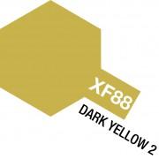 81788 Tamiya XF-88 Dark Yellow 2 (Темно-желтая 2) акрил, матовая 10 мл