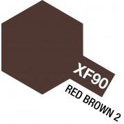 81790 Tamiya XF-90 Red Brown 2 (Красно-коричневая 2) акрил, матовая 10 мл