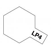 82104 Tamiya LP-4 Flat White (Белая матовая), 10 мл
