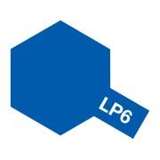 82106 Tamiya LP-6 Pure Blue (Синяя глянцевая), 10 мл