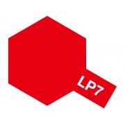 82107 Tamiya LP-7 Pure Red (Красная глянцевая), 10 мл