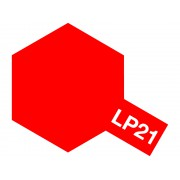 82121 Tamiya LP-21 Italian Red (Итальянская красная), 10 мл