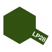 82128 Tamiya LP-28 Olive Drab (оливковая серая), 10 мл