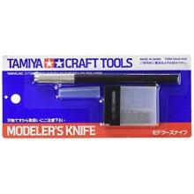 74040 Tamiya Дизайнерский нож с 25 дополнительными лезвиями