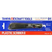 74091 Tamiya Скрайбер II для пластика Plastic SCRIBER II