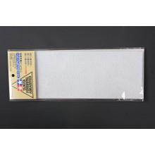 87010 Tamiya Набор шлифовальной бумаги (Fine Set) c зернистостью 400 и 1000 по 2шт, 600 - 1шт.