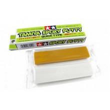 87051 Tamiya EPOXY PUTTY Шпаклевка эпоксидная (Quick Type), 25 г.