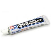87095 Tamiya Шпаклевка белая 32 гр. (Tamiya Putty White) (время застывания 1 мм-1 ч.)