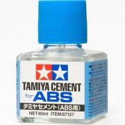 87137 Tamiya Клей для АБС-пластика, с кисточкой, 40 мл.