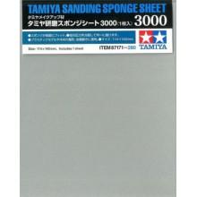 87171 Tamiya Шлифовальная губка с зерн. #3000