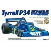 20058 Tamiya Tyrrell P34 Six Wheeler - w/Photo Etched Parts, 1/20