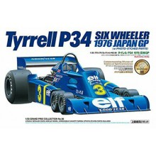 20058 Tamiya Tyrrell P34 Six Wheeler - w/Photo Etched Parts, 1/20