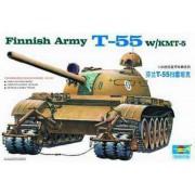 00341 Trumpeter Finnish Army T-55 W/KMT-5, 1/35