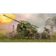 02349 Trumpeter Soviet 100mm Air Defense Gun KS-19M2, 1/35