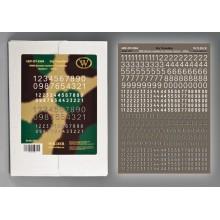 HDF-DT-3504 Wilder СУХИЕ ДЕКАЛИ набор 4, 1/35