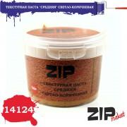 14124 ZIPmaket Текстурная паста средняя светло-коричневая, 120 мл.