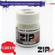 12019 ZIPmaket Пигмент наст снежный, 15 гр
