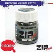 12026 ZIPmaket Пигмент серый бетон, 15 гр